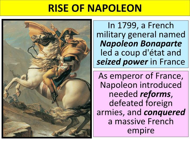 napoleon rise to power