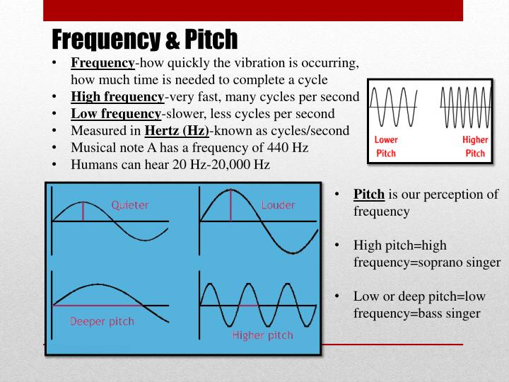 Frequency & Pitch