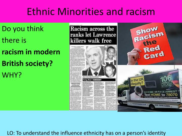 Ethnic Minorities and racism
