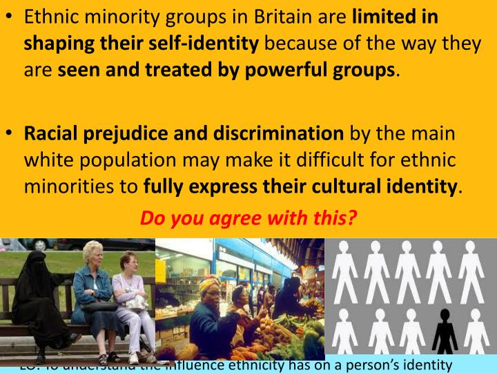 Ethnic minority groups in Britain are