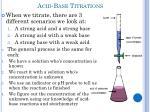 acid base titrations2
