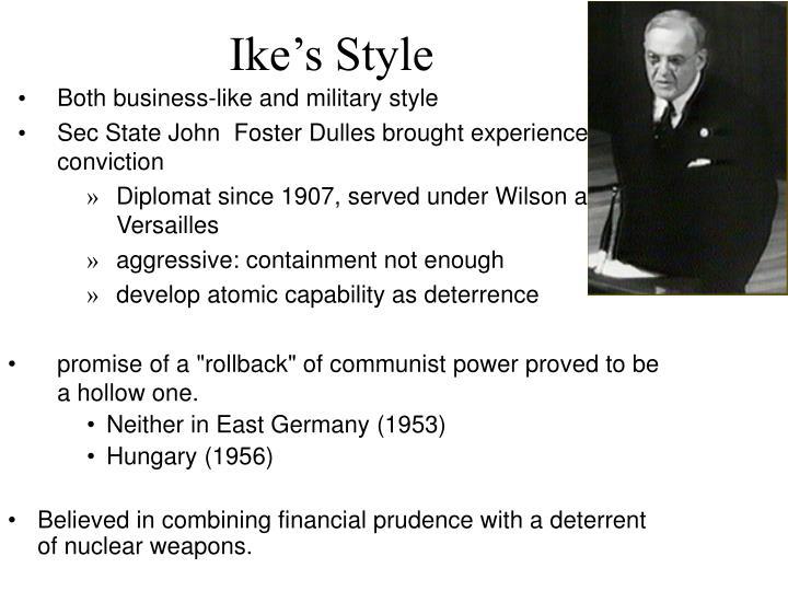 Ike's Style