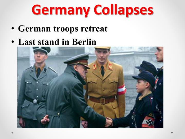 Germany Collapses