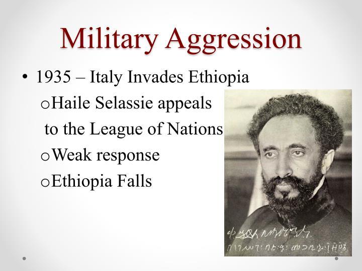 Military Aggression