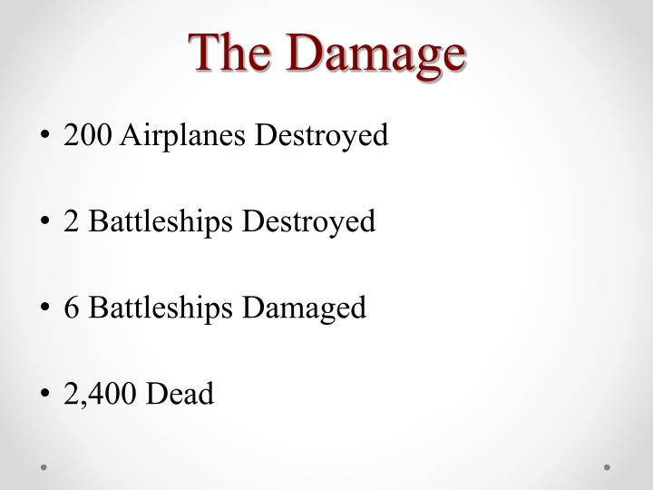 The Damage