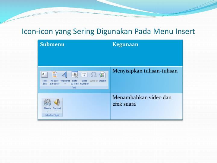 Icon-icon yang