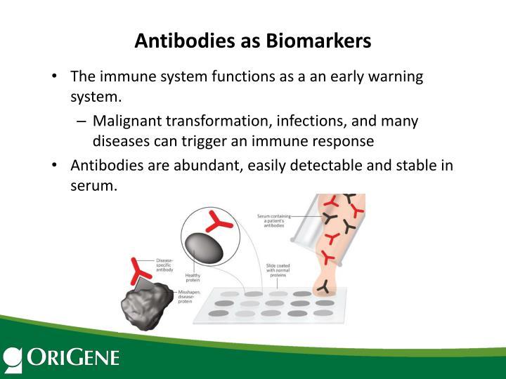 Antibodies as Biomarkers
