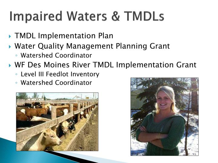 Impaired Waters & TMDLs