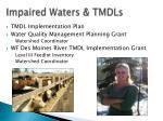 impaired waters tmdls