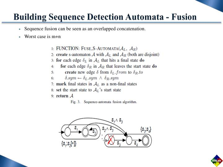 Building Sequence Detection