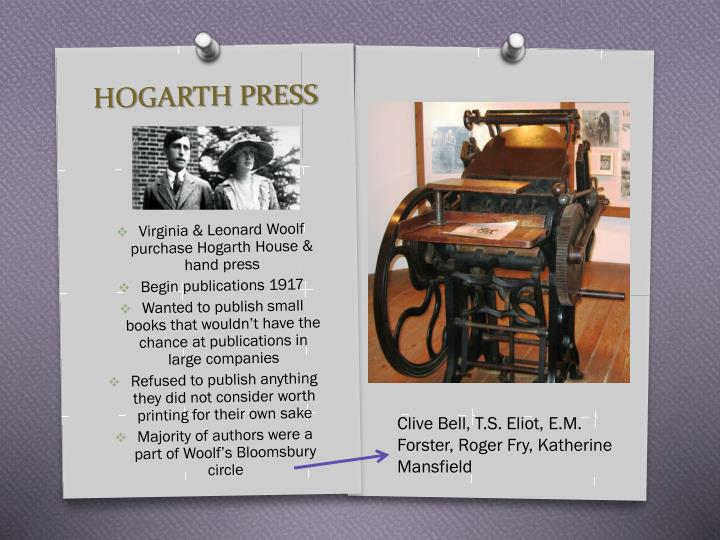 HOGARTH PRESS