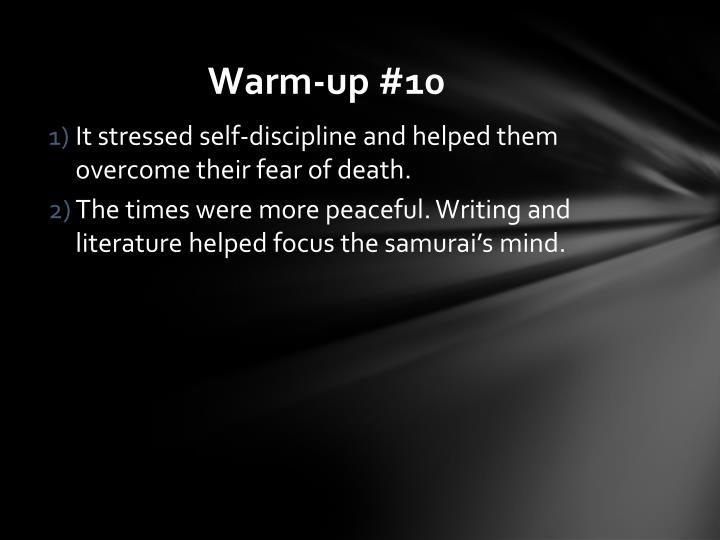 Warm-up #10