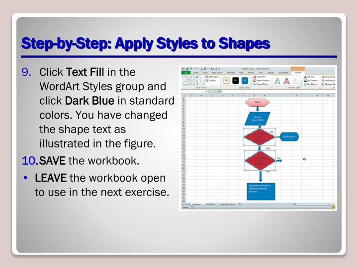 Step-by-Step: Apply Styles to Shapes