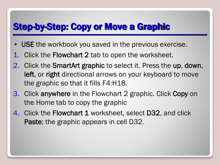 Step-by-Step: Copy or Move a Graphic