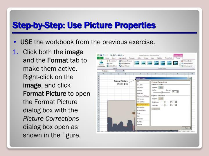Step-by-Step: Use Picture Properties