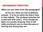 inference practice1