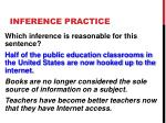 inference practice2