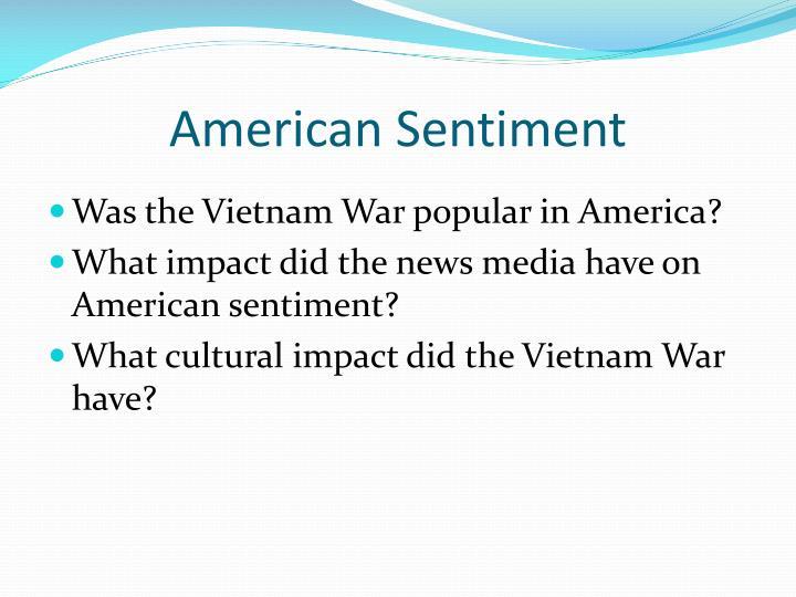 American Sentiment