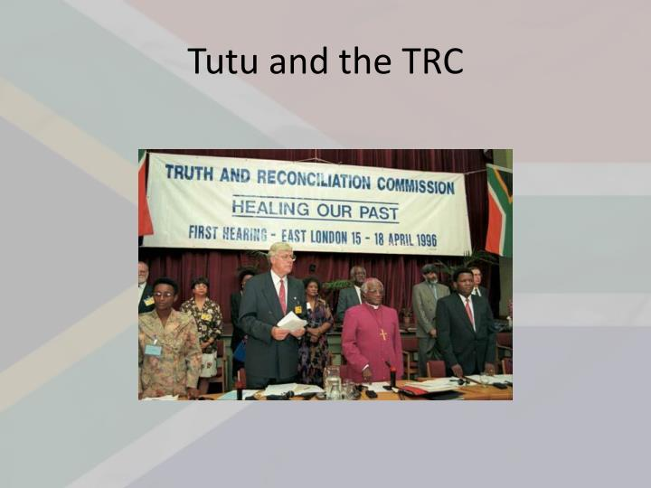 Tutu and the TRC