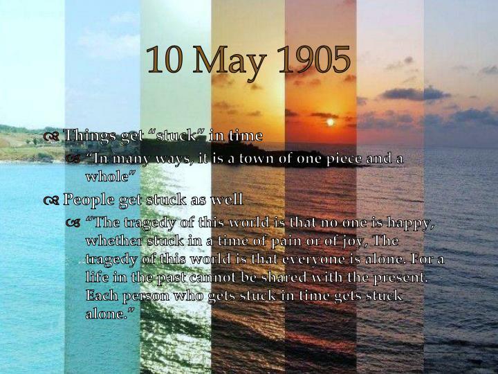 10 May 1905