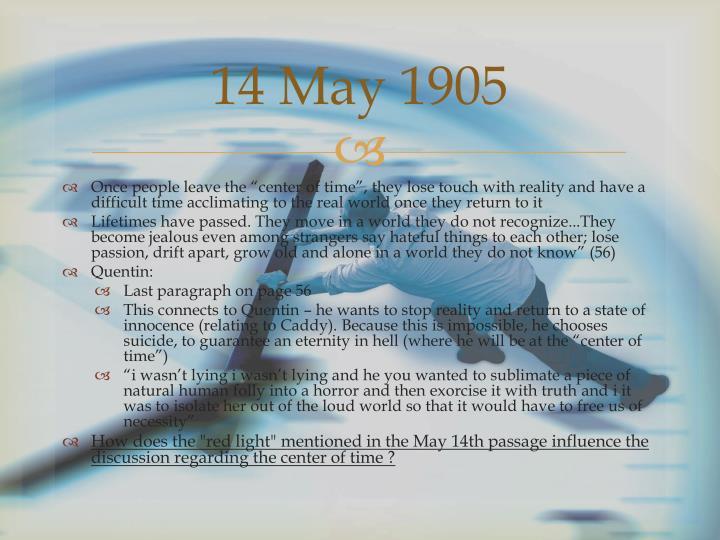 14 May 1905