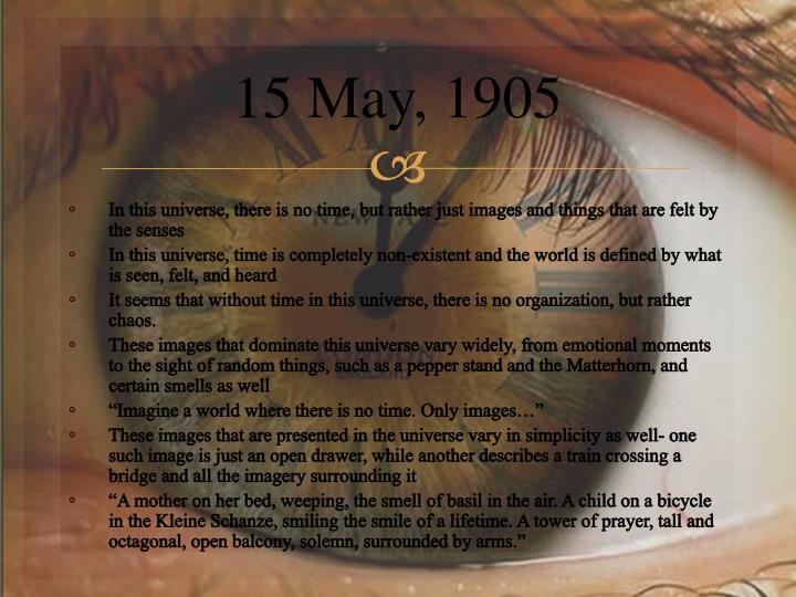 15 May,