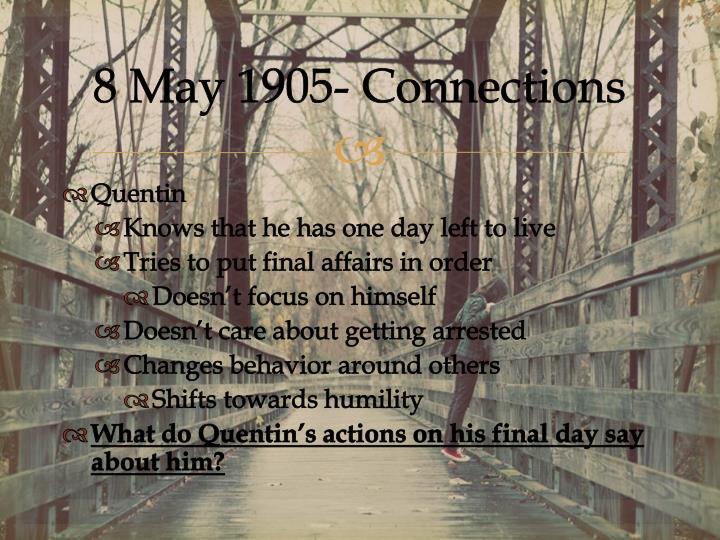 8 May