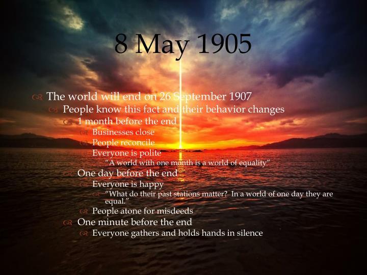 8 May 1905