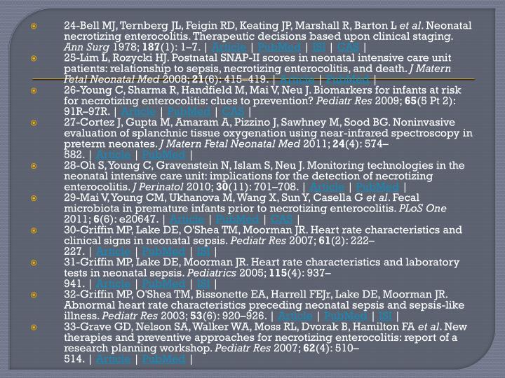 24-Bell MJ, Ternberg JL, Feigin RD, Keating JP, Marshall R, Barton L
