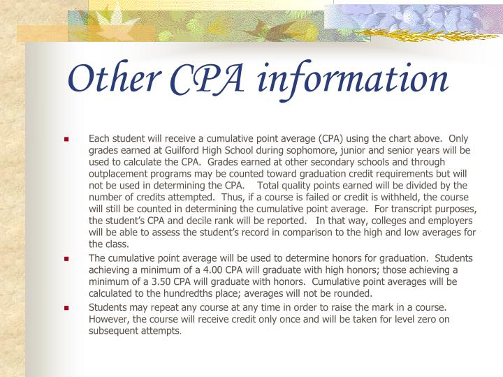 Other CPA