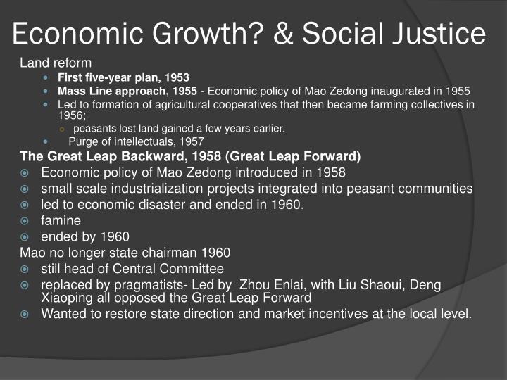Economic justice essay