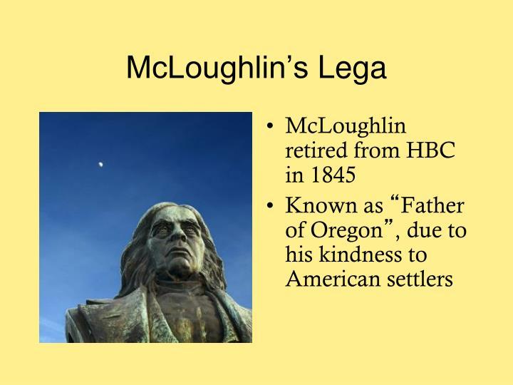 McLoughlin's