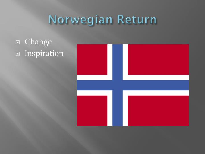 Norwegian Return