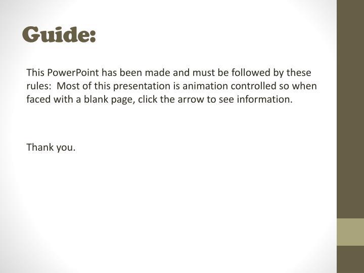 Guide: