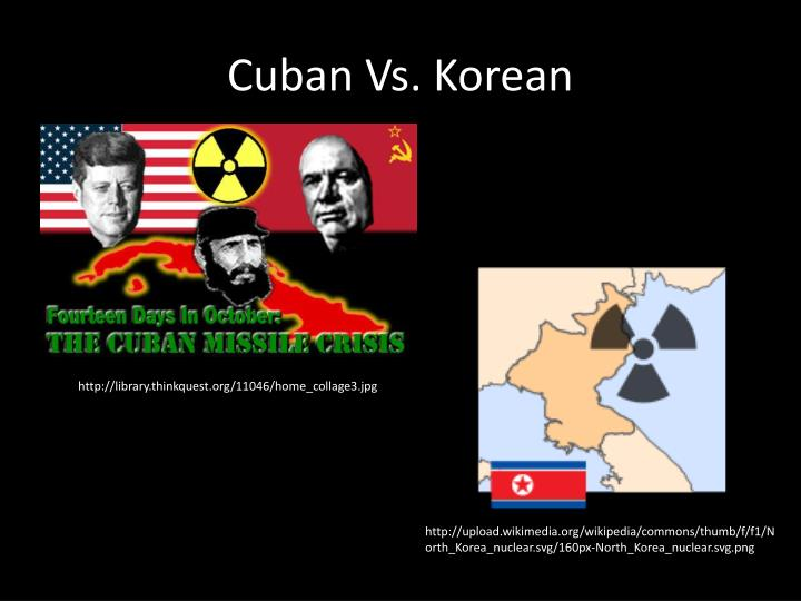 Cuban Vs. Korean