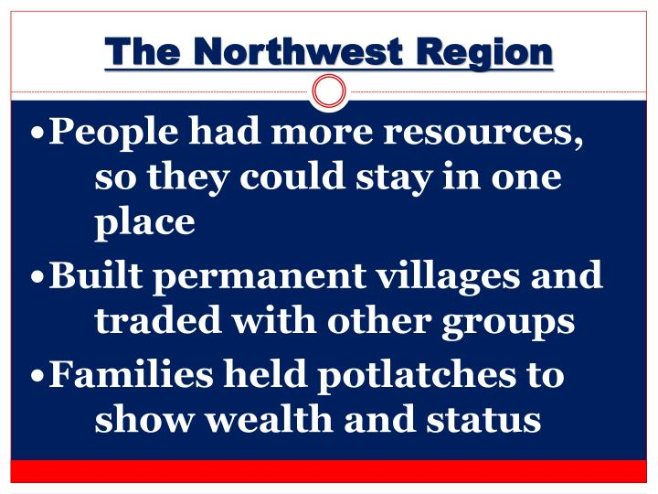 The Northwest Region