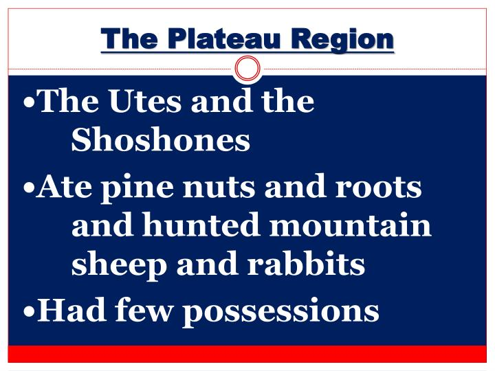 The Plateau Region