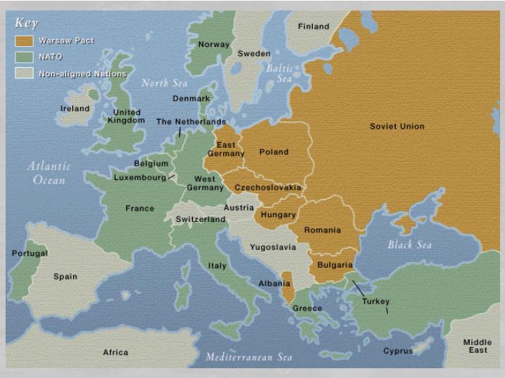 La nascita della NATO