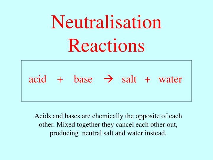 acid    +    base