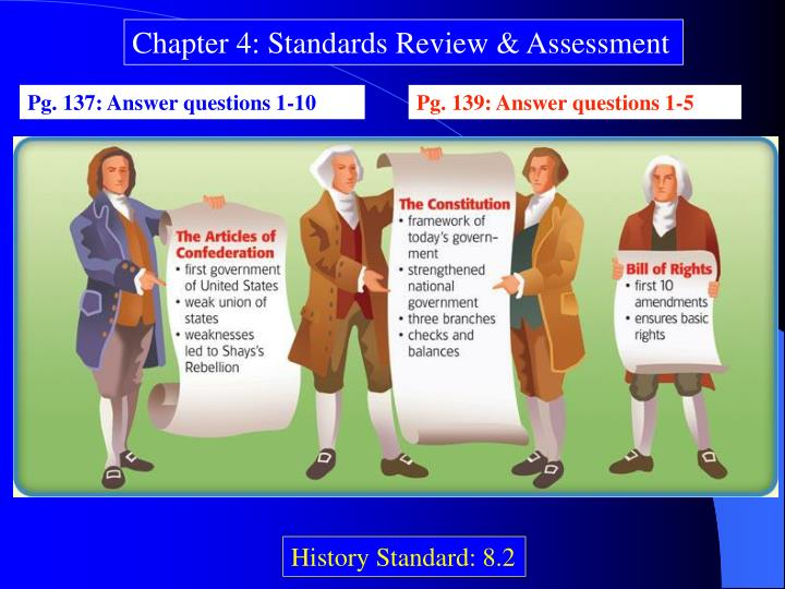 Chapter 4: Standards Review & Assessment