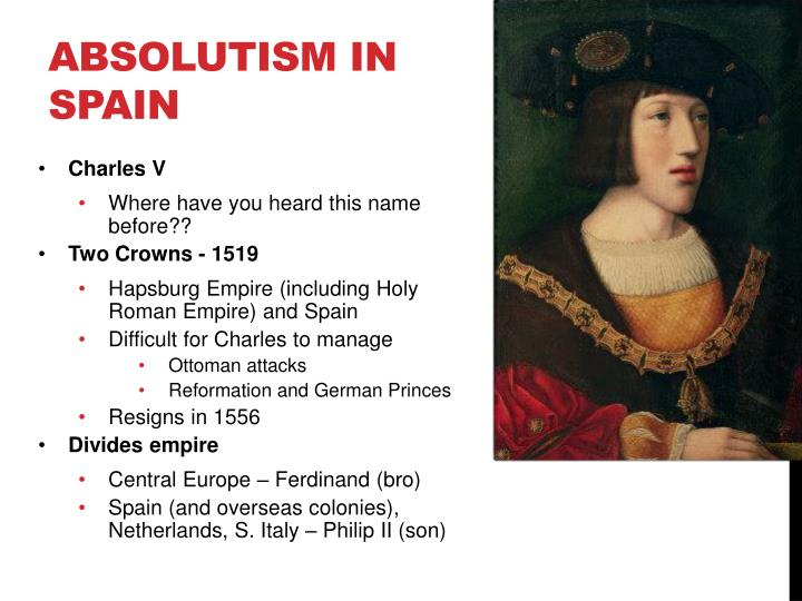 Absolutism in Spain