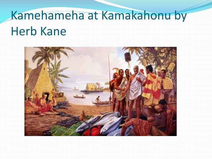 Kamehameha at