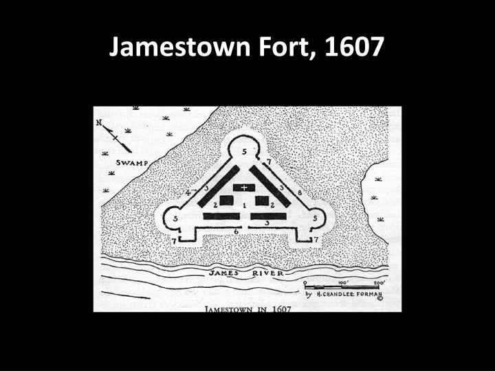 Jamestown Fort, 1607