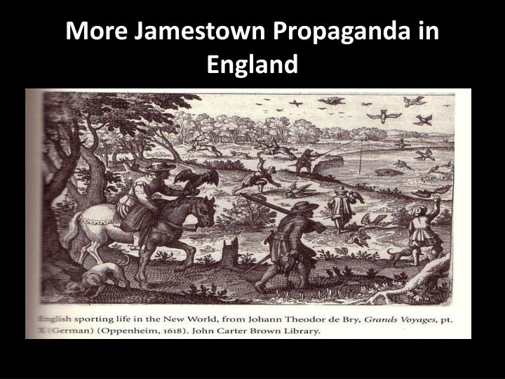 More Jamestown Propaganda in England