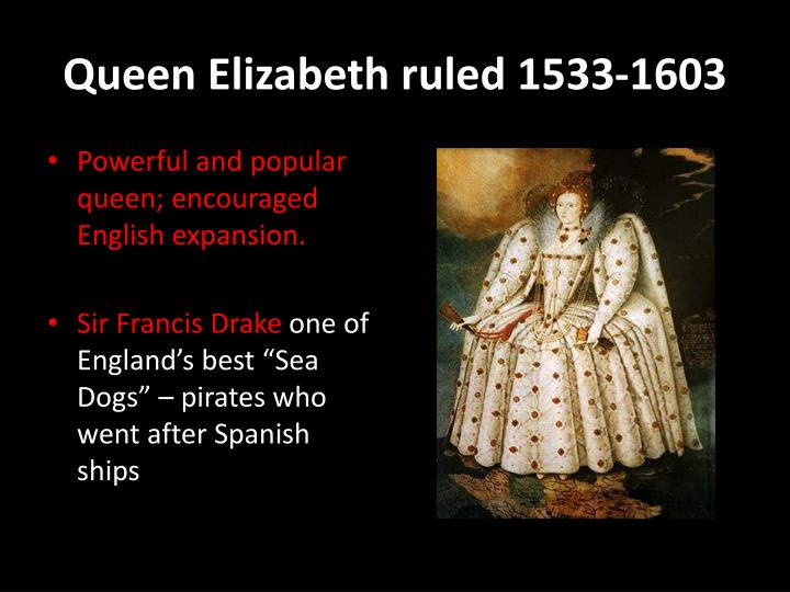 Queen elizabeth ruled 1533 1603
