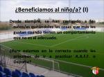beneficiamos al ni o a i