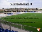 recomendaciones i