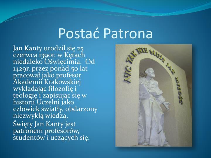 Postać Patrona