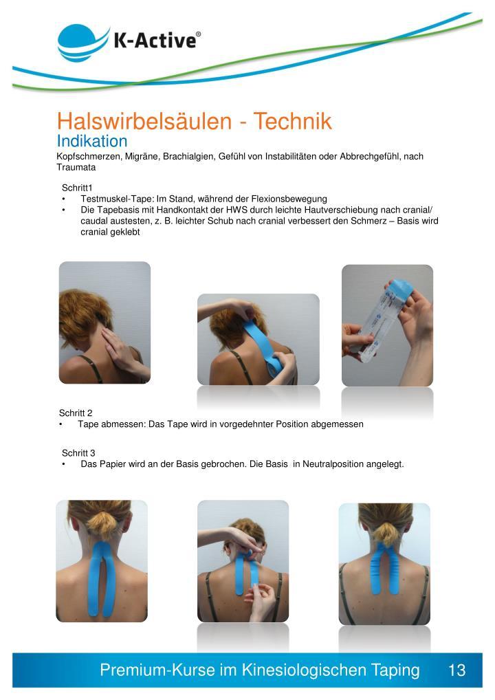 Halswirbelsäulen