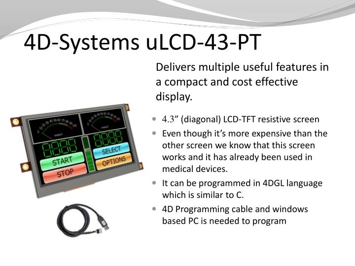 4D-Systems uLCD-43-PT